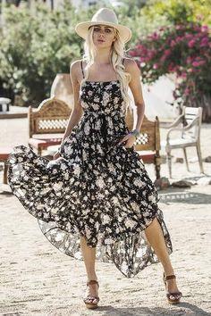 Gypsy Dancer Maxi Sundress