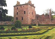 Edzell Castle....this was my family's castle in Scotland...the Lindsey side.  It is now part of the Scottish Park system.