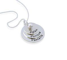 A triple love, 3 namen - Bella Luca Sieraden - Mooie sieraden voor de trotse mama!