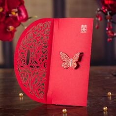 w045 Gift envelopes Chinese bronzing gilt  red envelope packets 1pcs