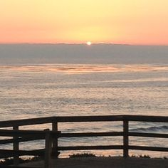 Moonstone Beach at sunset, Cambria, CA