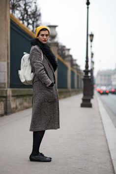 because it's 8 degrees and raining here this looks about right. Paris. #TheLocals