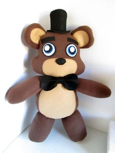 Freddy Plush Inspired by Five Nights at Freddy's by FabroCreations