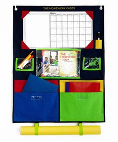 Look what I found on #zulily! Primary Homework Caddy by Homework Caddy #zulilyfinds