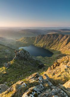 "expressions-of-nature: "" Cadair Idris, Wales by Kris Williams "" Cool Places To Visit, Places To Travel, Travel Destinations, Snowdonia National Park, British Countryside, Excursion, British Isles, Landscape Photography, Sunrise"