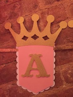 Glitter Princess Banner by CMHandmadeBoutique on Etsy 3rd Birthday Cakes, Happy Birthday Banners, 1st Birthday Parties, Birthday Decorations, Princess Theme Party, Baby Shower Princess, Princess Birthday, Happy Party, Happy B Day