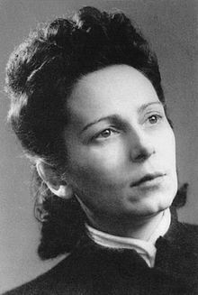 Ariadna Aleksandrovna Scriabina (Russian: Ариадна Александровна Скрябина; also Sarah Knut, née Ariadna Alexandrovna Schletzer, pseudonym Régine; 26 October 1905 – 22 July 1944) was a Russian poet and activist of the French Resistance, who co-founded the Zionist resistance group Armée Juive. She was posthumously awarded the Croix de guerre and Médaille de la Résistance.