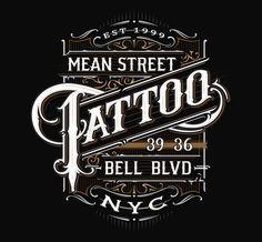 Tattoo Parlours on Behance