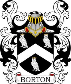 Borton Family Crest and Coat of Arms