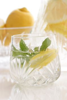 Lemon Mint Spa Water