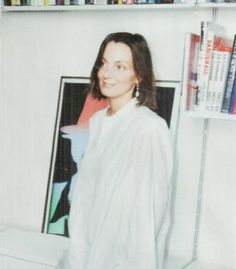 Phoebe Philo VOGUE US Vogue Us, Phoebe Philo, Shades Of White, Creative Director, Celine, Style Icons, Muse, Attitude, Chef Jackets