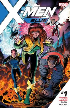 Creators, Cast & More Revealed for Twice-Monthly X-MEN: BLUE and GOLD Titles
