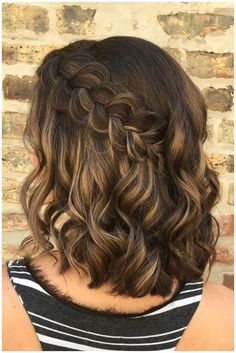 Formal Hairstyles For Short Hair, Cool Braid Hairstyles, Braided Hairstyles For Wedding, Short Wedding Hair, Pretty Hairstyles, Hairstyle Short, Hairstyles Men, Hairstyles Pictures, Funky Hairstyles
