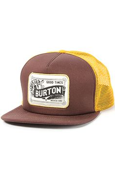 Snapback Fashion Blog Burton Men s The Draught Trucker Cap in Grizzly 91a689d28a