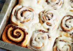 Cinnamon Rolls - I made these the other day and they were the best cinnamon rolls I have ever had. Better than Cinnabon, cheaper than cinnabon and very easy to make.