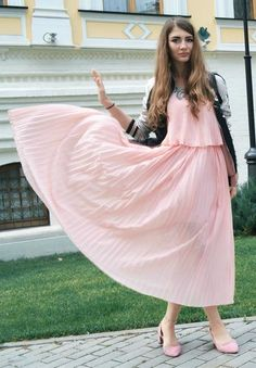 Modest in Pink