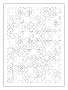 oh my stars - blank quilt pattern