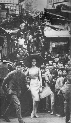 Francesco Scavullo for Harper's Bazaar, June 1962.