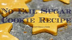 Best No Fail Sugar Cookie Recipes on Cake Central - Regular Sugar, Chocolate, Strawberry, and Raspberry