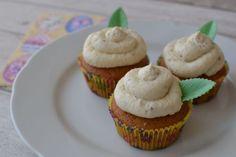 Veľkonočné cupcakes s medom a orechami