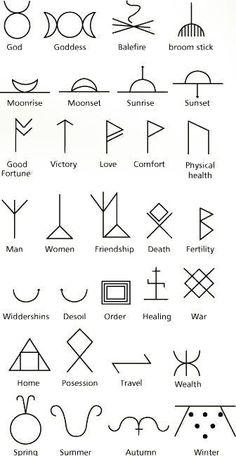 Ancient symbols by matilda