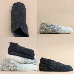 I bloggedthis free pattern back in July but I think it'smuch more appropriate to post it now – there'snothing quite like a pair of cozy hand knit slippers when the weather take…