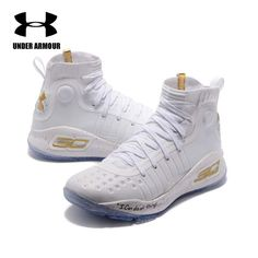 65e419ff05bb Under Armour Men Curry 4 Basketball Shoes sock sneakers