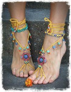 barefoot sandals design patterns - Google Search