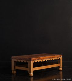 William Spratling Coffee Table – Blackman Cruz  Oh how I would just Love to have one like this in my home!