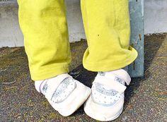 Scarpe Melania: abbiamo acquistato le scarpe per la primavera e optato per le sneaker e i sandali in pelle di Melania: in pelle con suola flessibile