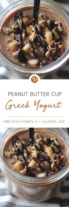 Peanut Butter Cup Greek Yogurt