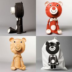 cool toys by Acne JR, a toy company from Sweden
