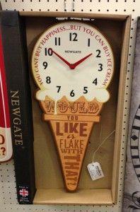 Newgate Clock Small Ice Cream £34.50