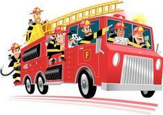 Firefighter Cartoon For Kids To enhance the teaching of Fire Truck Games, Fire Trucks, Truck Icon, Crab Art, Firefighter Emt, Kids Room Paint, Fire Engine, Fire Department, Cartoon Images