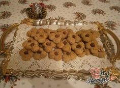 Mocca oválky s kávovým zrnkem 20 Min, Gingerbread Cookies, Kiwi, Cherry, Breakfast, Desserts, Christmas, Food, Biscuits