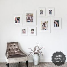 Decorating With Photos On Pinterest Photo Walls Photo