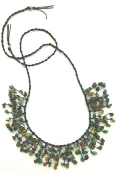 Multicolor Stone Bib Necklace Stone Necklace Bib by Franca&Nen $20 https://www.etsy.com/listing/221079675/multicolor-stone-bib-necklace-stone