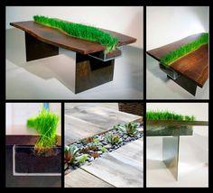 Planter-Table, una mesa de comedor llamativa, moderna y ecológica!