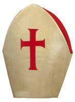 Bishop hat folded