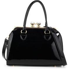 Dasein Womens Designer Padlock Belted Top Handle Satchel Handbag Purse Shoulder Bag With Wallet/…