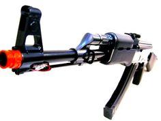 AK 47 Airsoft Gun Full Auto Electric Rifle AEG Air Gun Black Color *** Want additional info? Click on the image.