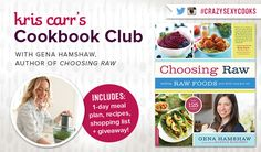 Cookbook Club: Simple Raw Food Recipes + Meal Plan