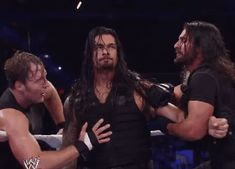 This is me when Someone Insults Dean Ambrose Roman Reigns And Seth Rollins Dean Ambrose Shield, Dean Ambrose Seth Rollins, Roman Reigns Dean Ambrose, Wwe Dean Ambrose, Dean Ambrose Funny, Roman Reigns Memes, Roman Reigns Gif, Roman Empire Wwe, Brie Bella