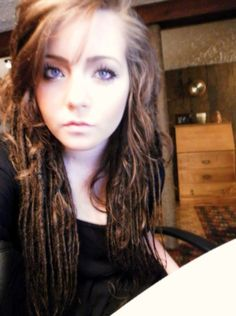 Tiny Dreads. #Getting Closer to what I'd be brave enough to try.