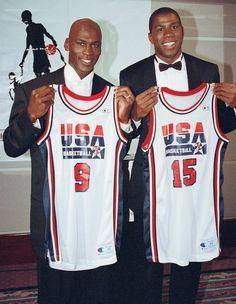 Team USA : Classic photos of Michael Jordan