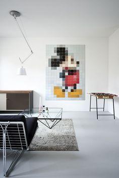 Murale Mickey