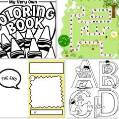 20 Free Coloring Pages For Kids {Free Printables} - Tip Junkie