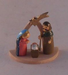 Nativity by Erzgebirgische Miniaturen