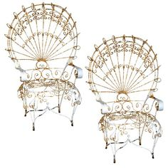 1000 Images About French Wireworks On Pinterest Peacock