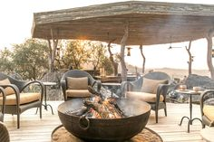 Singita helps you find the perfect travel experience in South Africa, Tanzania and Zimbabwe. African Safari, Zimbabwe, Lodges, Tanzania, Conservation, South Africa, Deck, Fire, Patio